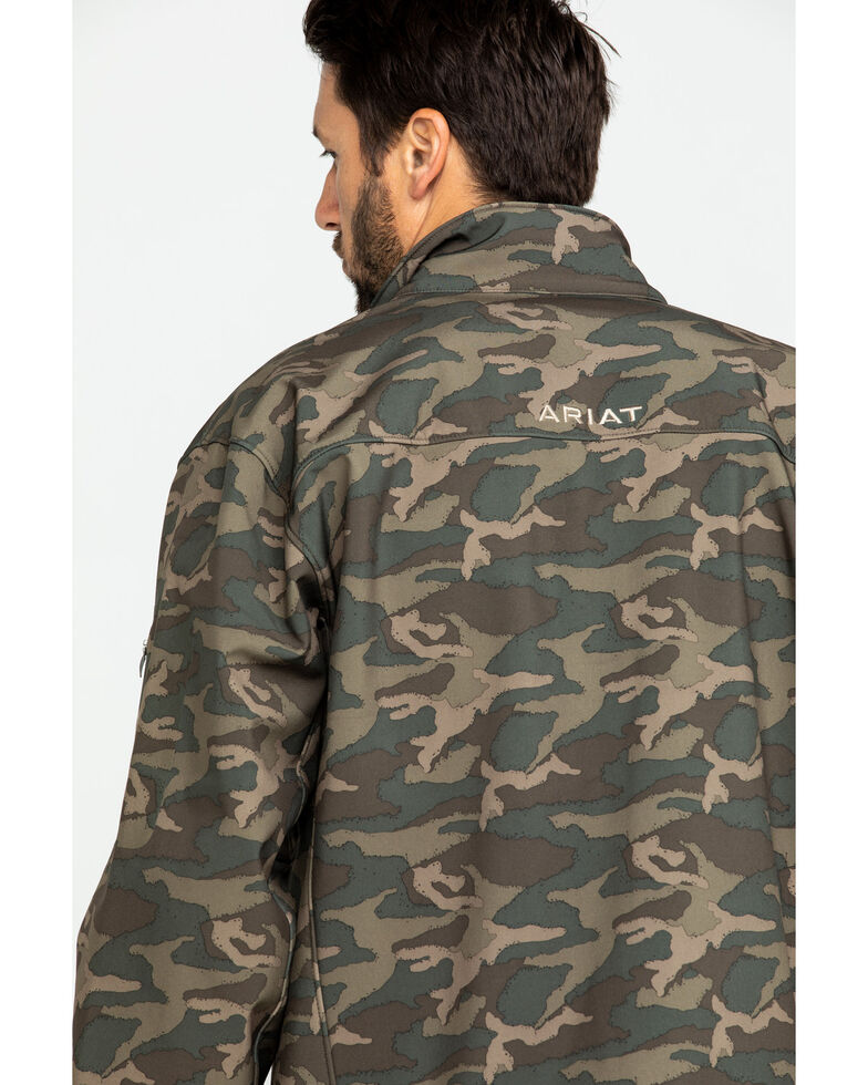 Ariat Men's Camo Vernon 2.0 Softshell Jacket, Camouflage, hi-res