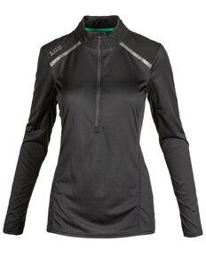 5.11 RECON® Women's Valerie Half Zip Jacket, Black, hi-res