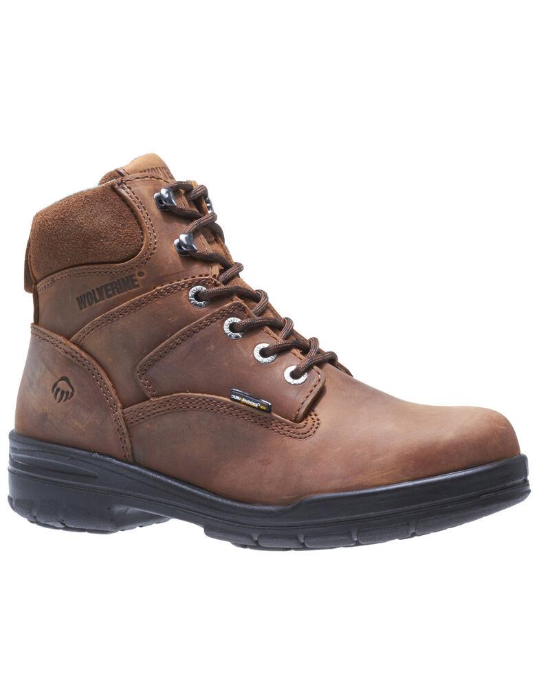 Wolverine Men's Durashocks Work Boots - Soft Toe, Brown, hi-res