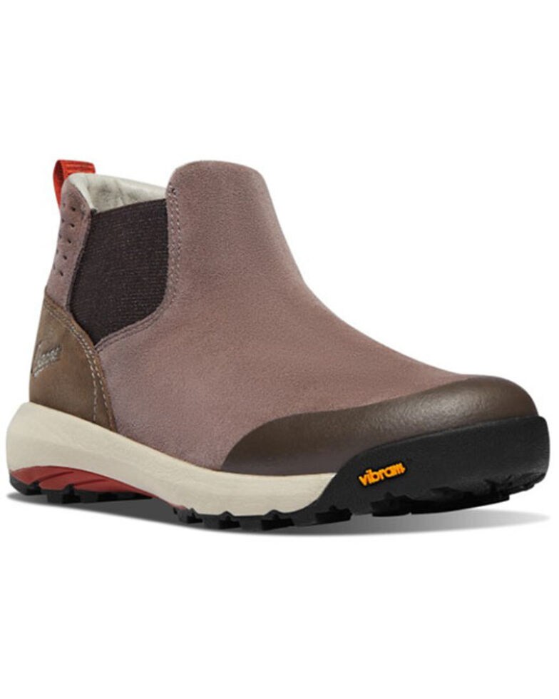 Danner Women's Brown Inquire Chelsea Hiking Boots - Soft Toe, Brown, hi-res