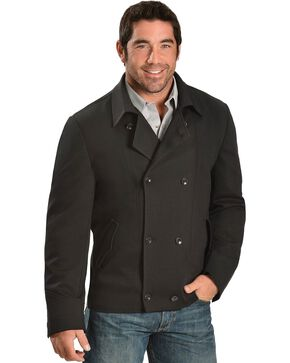 Cripple Creek Pea Coat, Black, hi-res