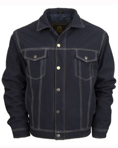 STS Ranchwear Men's Brumby Denim Cut  Jacket, Navy, hi-res