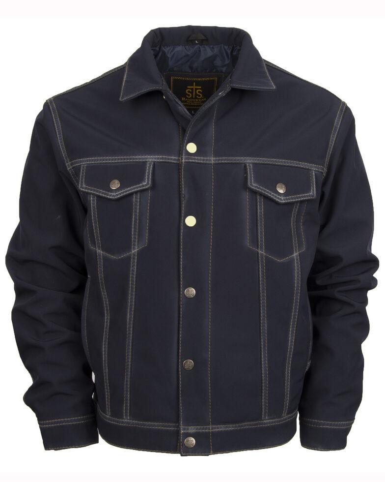 STS Ranchwear Men's Brumby Denim Cut  Jacket, Navy, hi-res