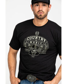 Moonshine Spirit Country Music USA Graphic T-Shirt , Black, hi-res