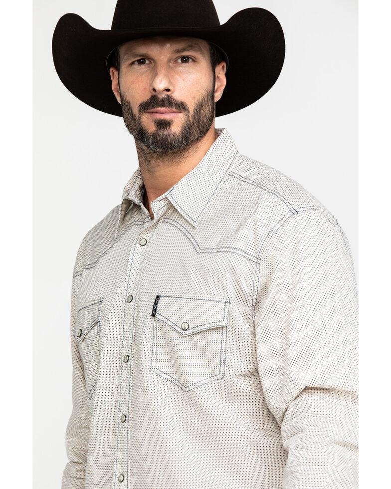 Cinch Men's Modern Multi Diamond Geo Print Long Sleeve Western Shirt , , hi-res