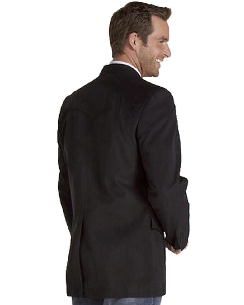 Circle S Men's Houston Microsuede Sport Coat, Black, hi-res