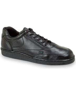 Thorogood Men's Postal Certified Code 3 Oxfords, Black, hi-res