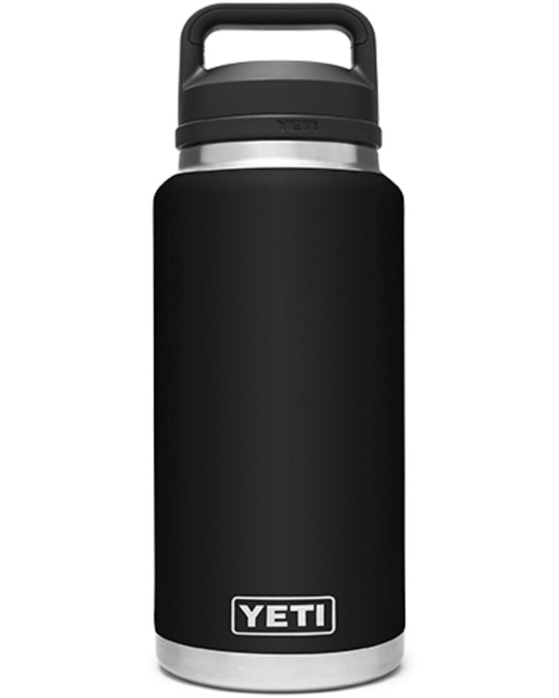 Yeti Rambler 36oz Black Chug Bottle, Black, hi-res
