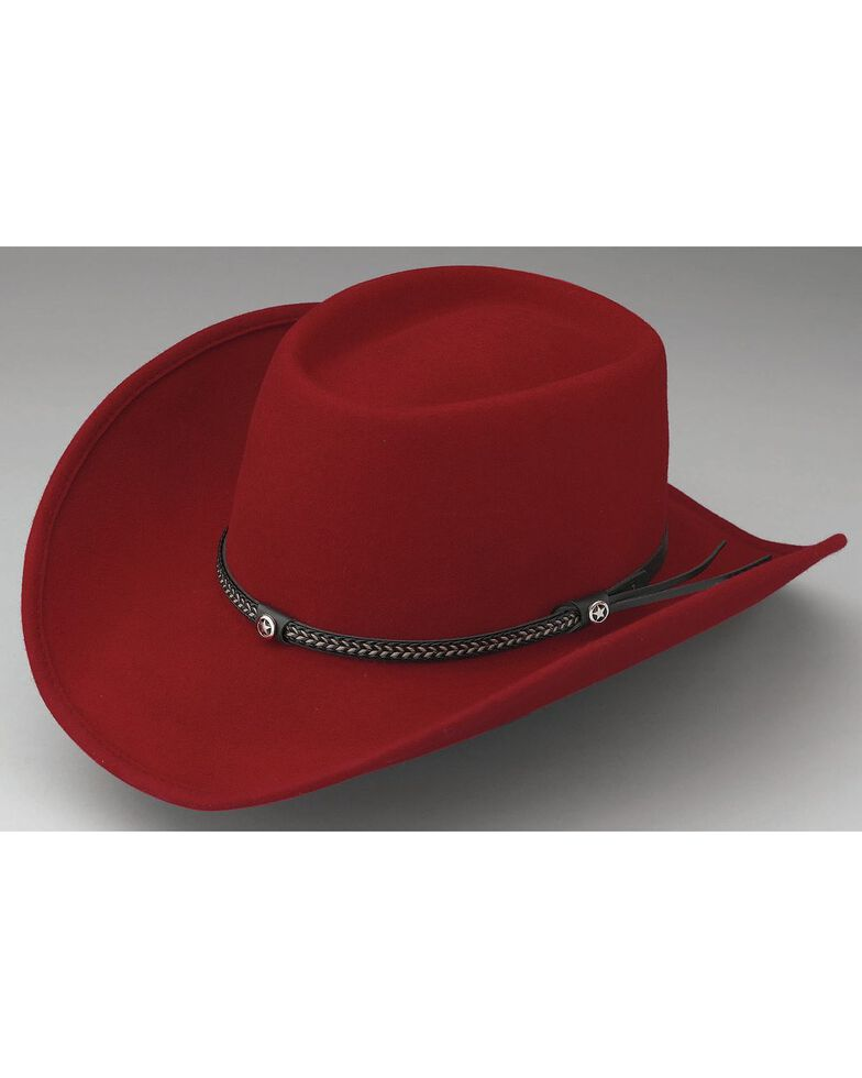 Outback Unisex Durango Hat, Red, hi-res