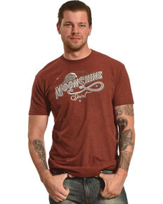 Moonshine Spirit Men's Eagle Graphic Tee , Black, hi-res