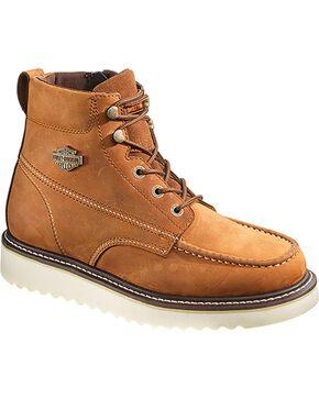 Harley-Davidson Men's Beau Casual Boots, Brown, hi-res