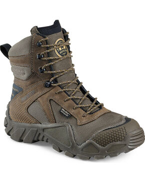 Irish Setter by Red Wing Shoes Men's Brown Vaprtrek Waterproof Boots , Brown, hi-res