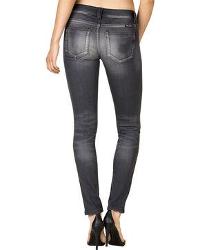 Miss Me Women's Grey Denim Skinny Jeans, Grey, hi-res
