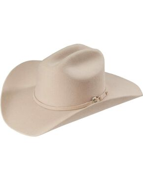 Justin Rodeo 3X Wool Cowboy Hat, Belly, hi-res