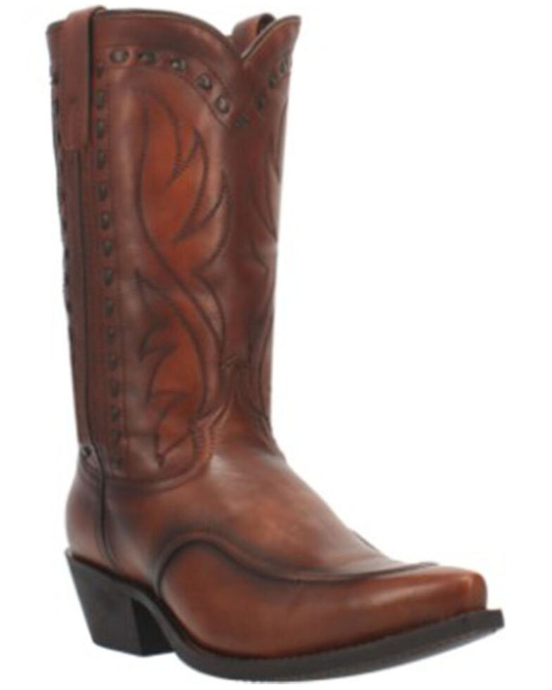 Laredo Men's Pierce Western Boots - Snip Toe, Cognac, hi-res