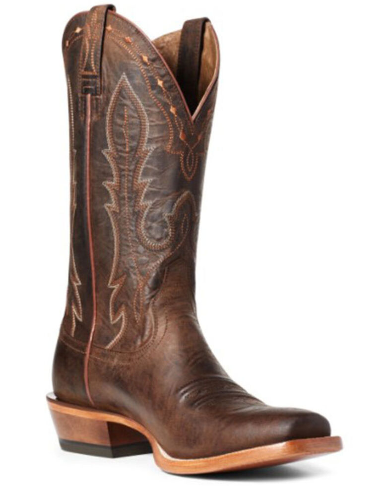 Ariat Men's Calico Western Boots - Square Toe, Brown, hi-res