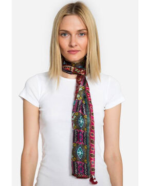 Johnny Was Women's Emilia Silk Scarf, Multi, hi-res