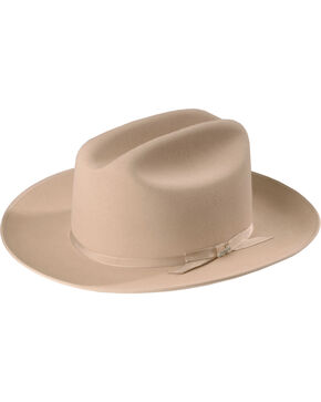 Stetson Open Road 6X Fur Felt Hat, Silverbelly, hi-res