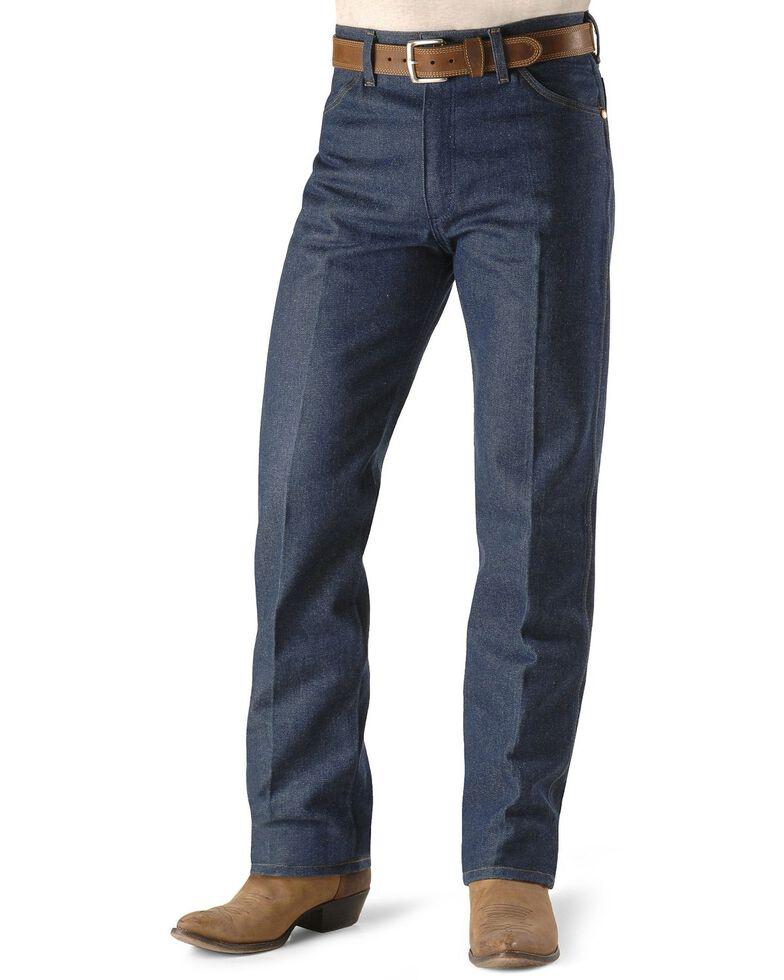 Wrangler Men's Rigid Cowboy Cut Original Fit Dress Jeans, Indigo, hi-res
