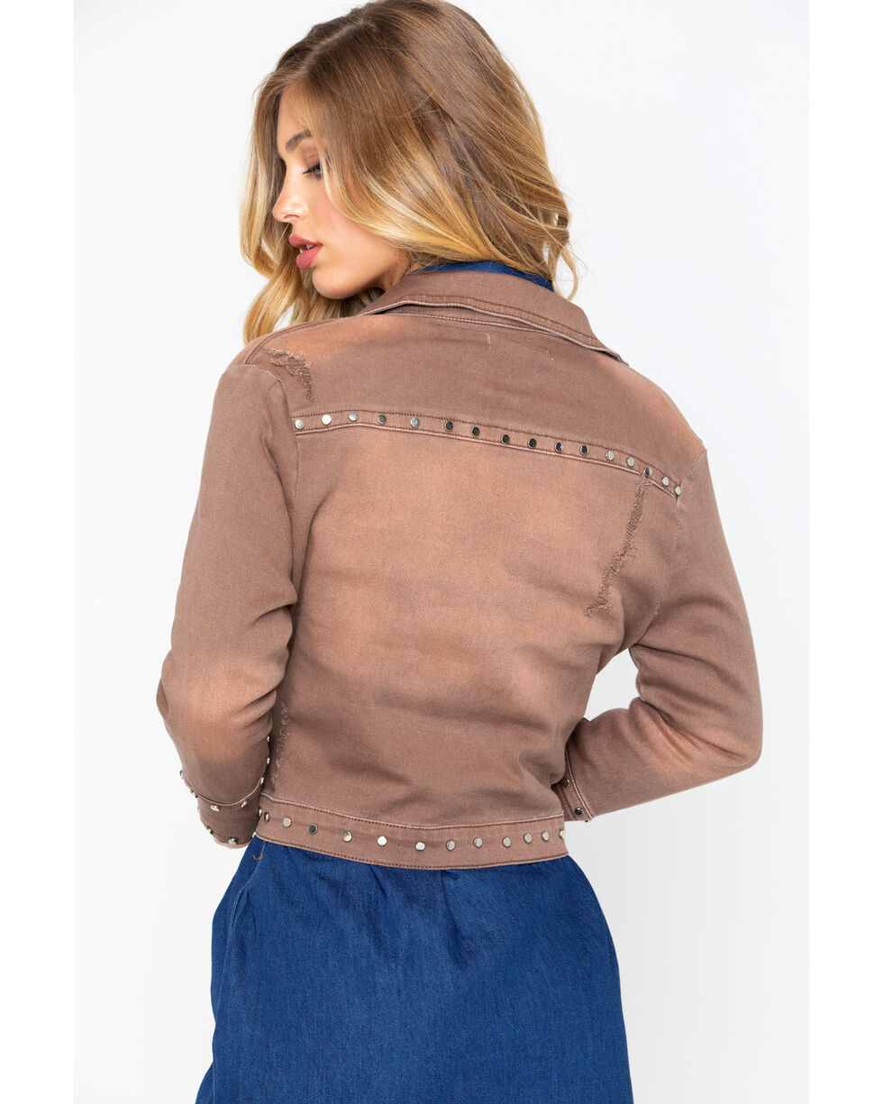 Angel Premium Women's Farrah Jacket , Taupe, hi-res