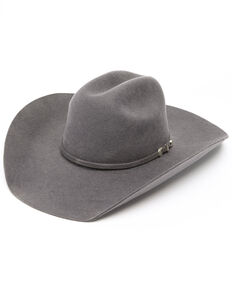53c19b2a88b73 Cody James Boys Big Horn Cowboy Hat, Grey, hi-res