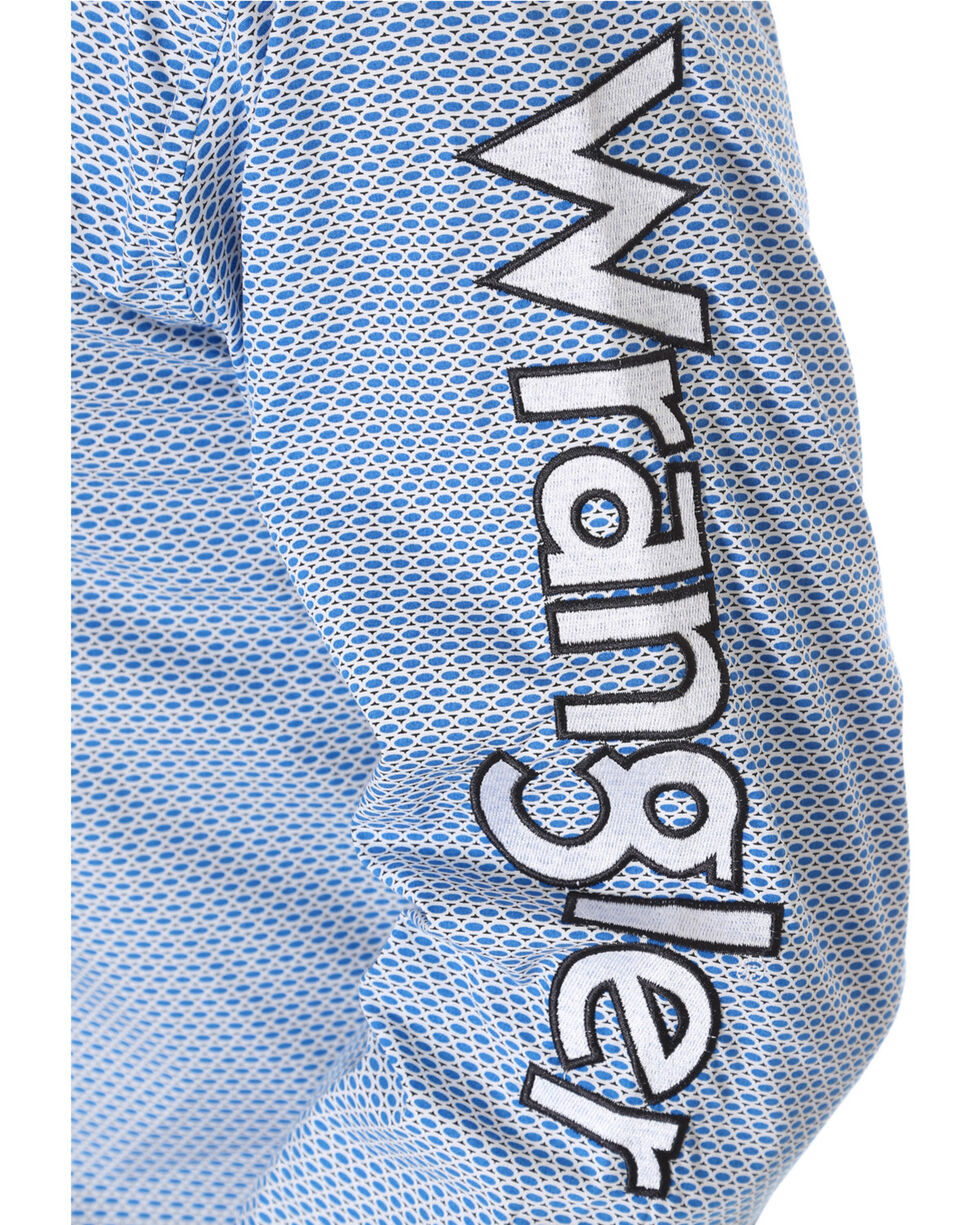 Wrangler Men's Blue Ford Logo Shirt , Green, hi-res