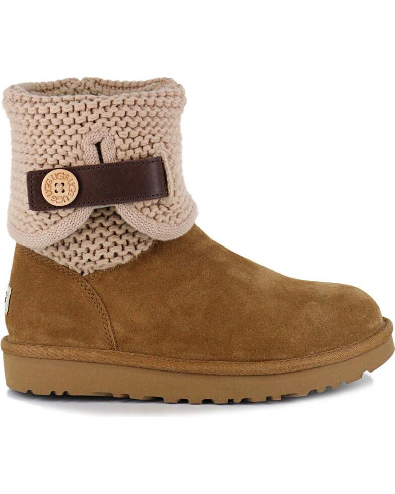 b2ebbe11ea9 UGG Women's Chestnut Shaina Boots - Round Toe