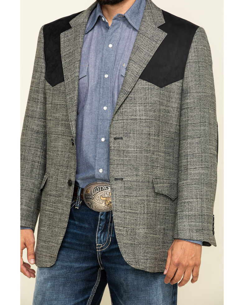 Cody James Men's Grey Western Sportcoat , Grey, hi-res