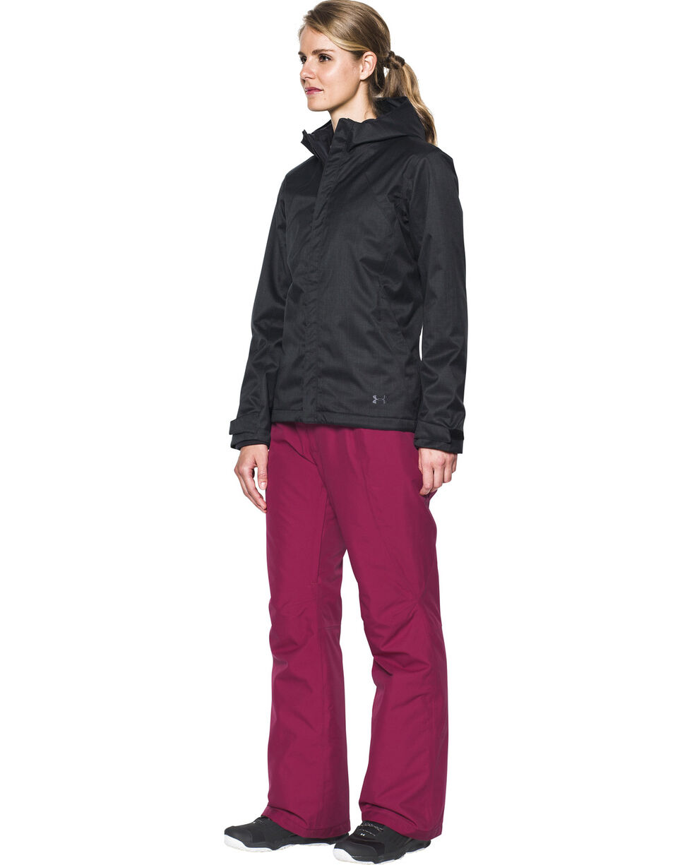 Under Armour Women's Coldgear Infrared Sienna 3-in-1 Jacket , Black, hi-res