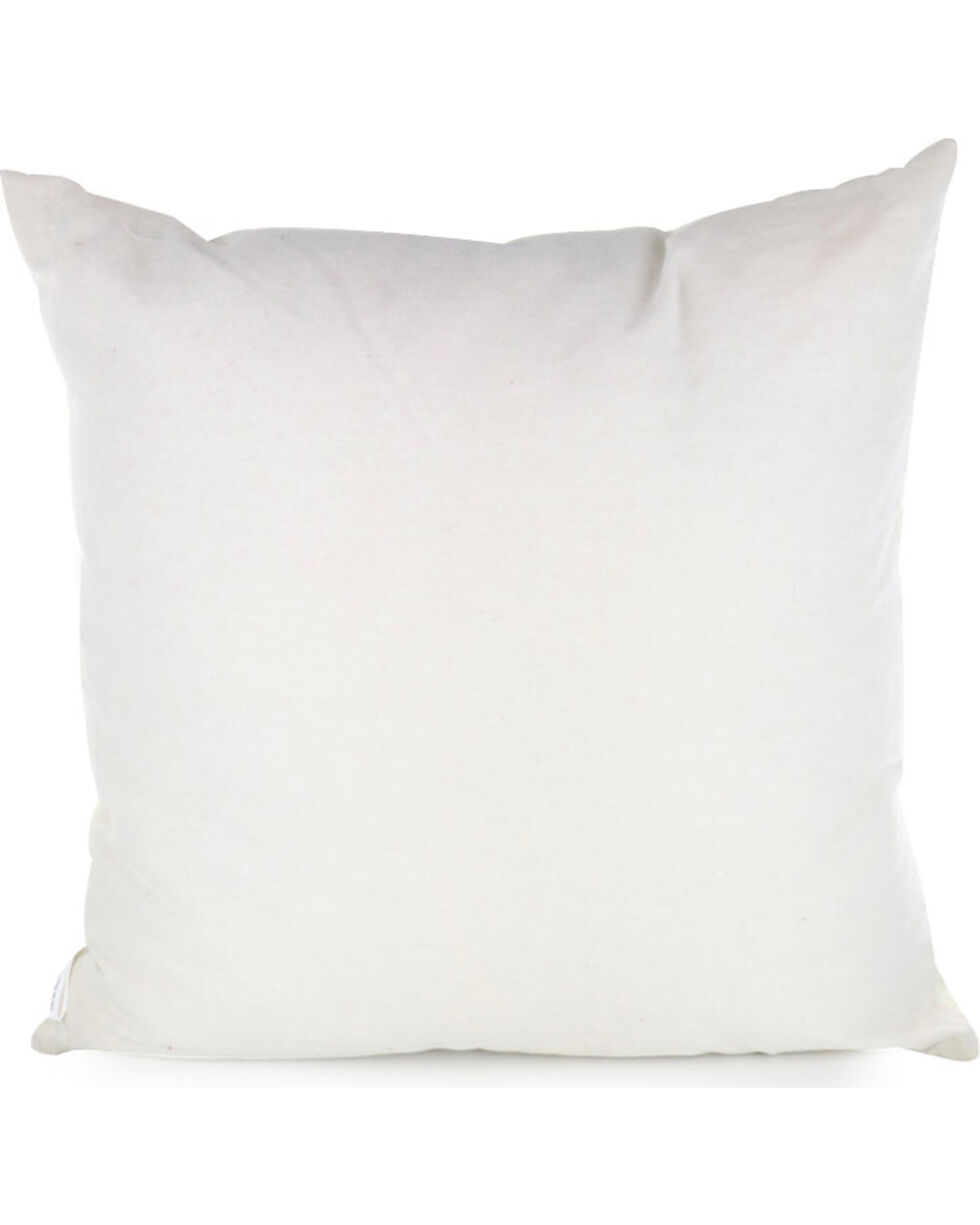 BB Ranch Longhorn Skull Throw Pillow, No Color, hi-res
