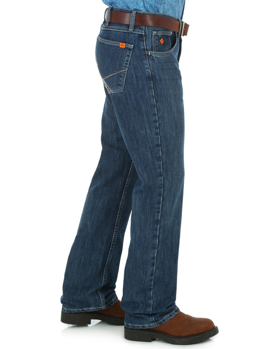Wrangler's 20X Men's Flame Resistant Jeans - Boot Cut, Indigo, hi-res