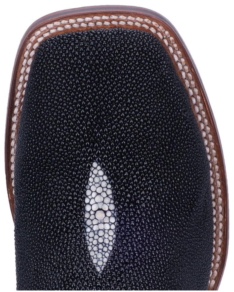 Dan Post Men's Ray Western Boots - Wide Square Toe, Black, hi-res