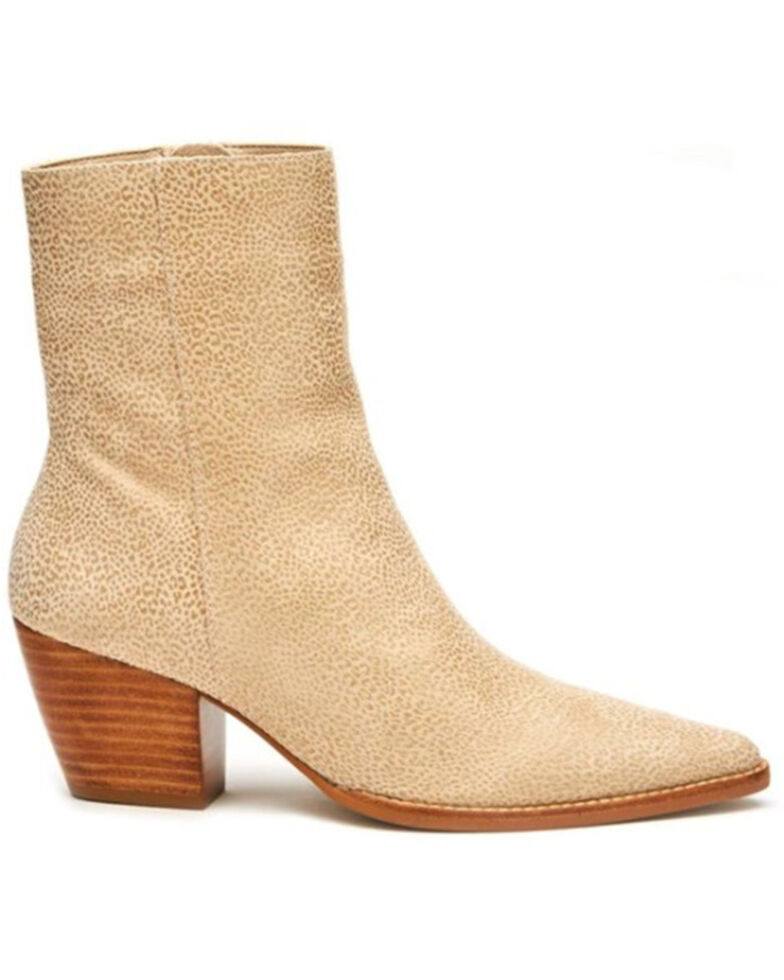 Matisse Women's Caty Fashion Booties - Round Toe, Ivory, hi-res