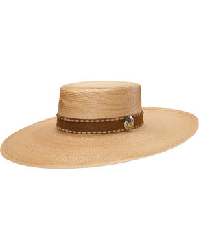 Charlie 1 Horse Women's Vaquera Straw Hat, Natural, hi-res