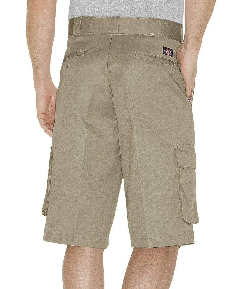 Dickies Twill Cargo Shorts - Tall, Sand, hi-res