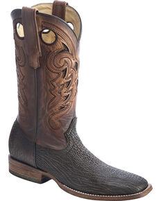Corral Men's Shark  Exotic Boots, Brown, hi-res