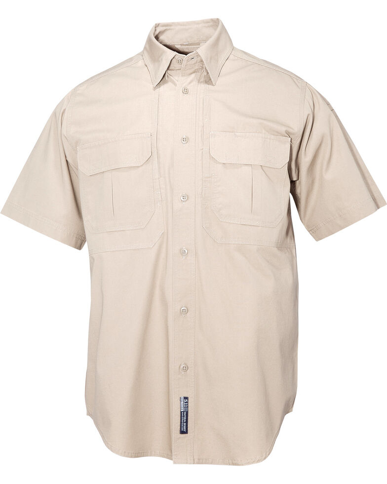 5.11 Tactical Shirt SS - Cotton 3XL, Khaki, hi-res