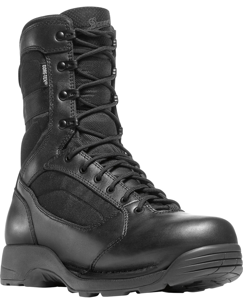 "Danner Striker Torrent GTX 8"" Work Boots, Black, hi-res"