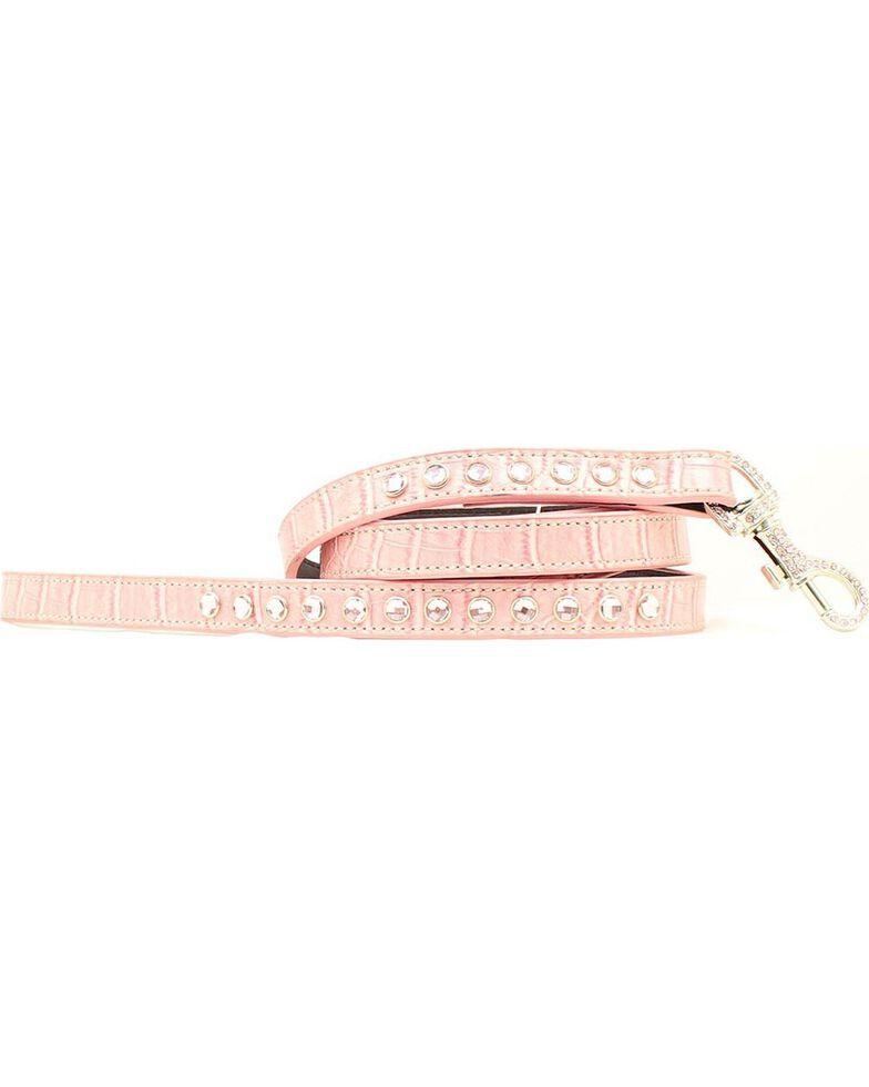 Blazin Roxx Pink Rhinestone Leash, Pink, hi-res
