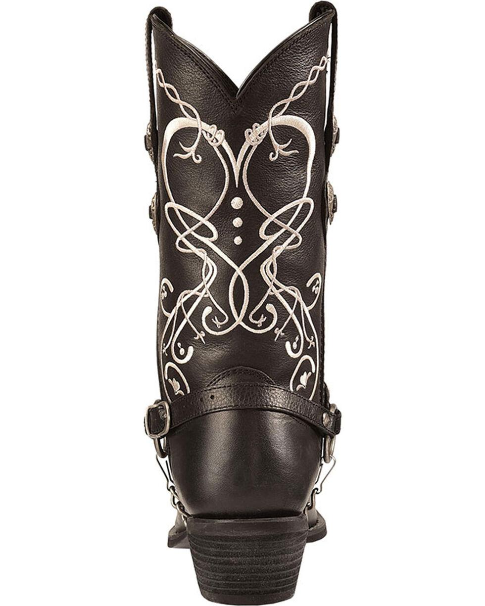 Durango Women's Boot Barn Exclusive Heart Harness Western Boots, Black, hi-res