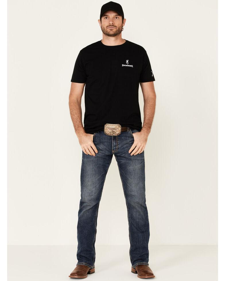 Browning Men's Black Star Badge Graphic Short Sleeve T-Shirt , Black, hi-res
