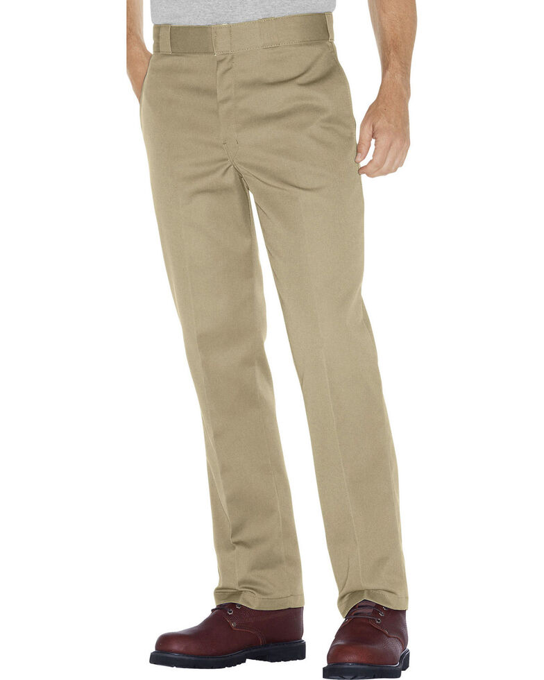 Dickies Men's Original 847 Work Pants - Big & Tall, Tan, hi-res