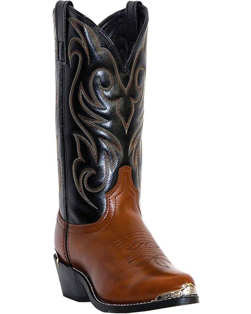 Laredo Western Garrett homme noir sablé FS VP Snip Western Cowboy Boot