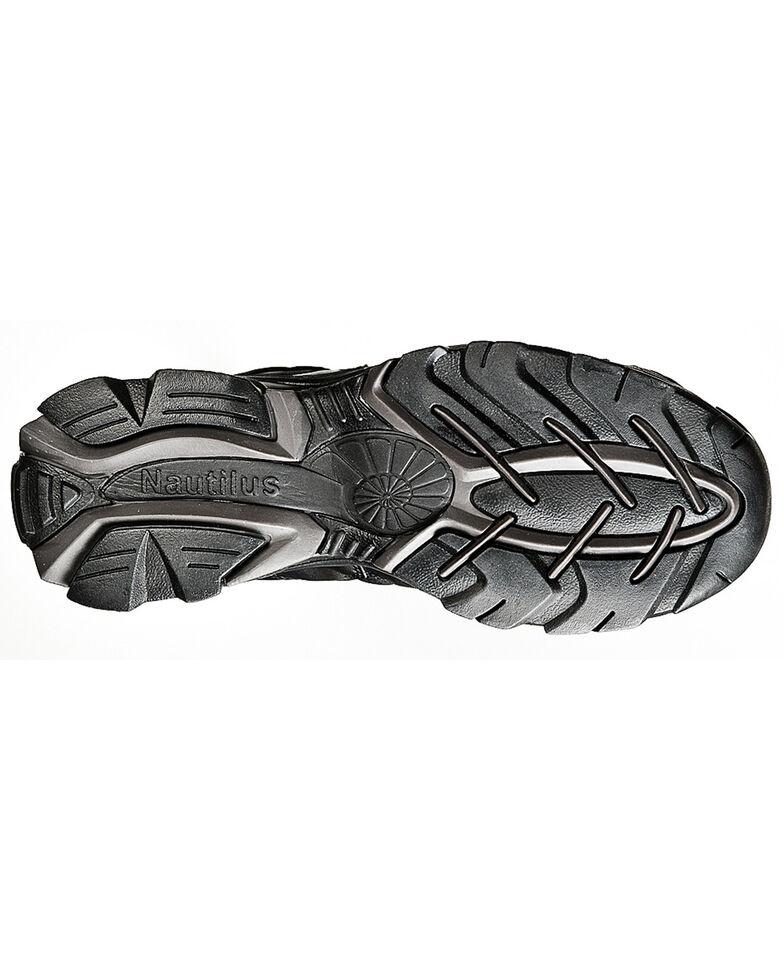 Nautilus Men's Steel Safety Toe Work Shoes, Black, hi-res