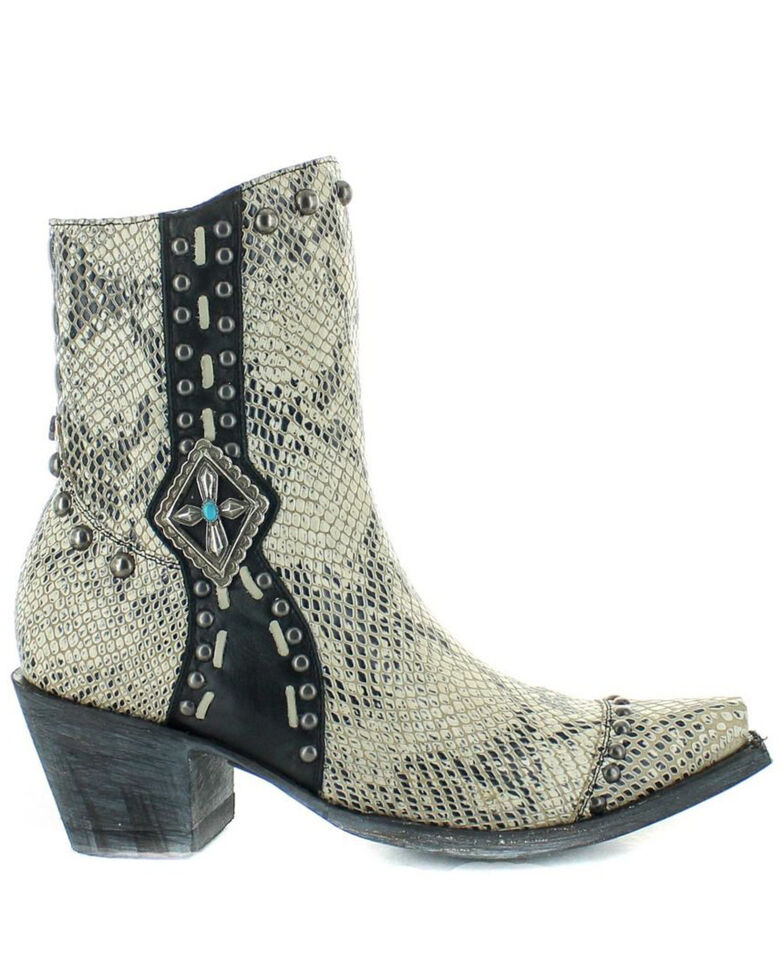 Old Gringo Women's Four Winds Fashion Booties - Snip Toe, White, hi-res