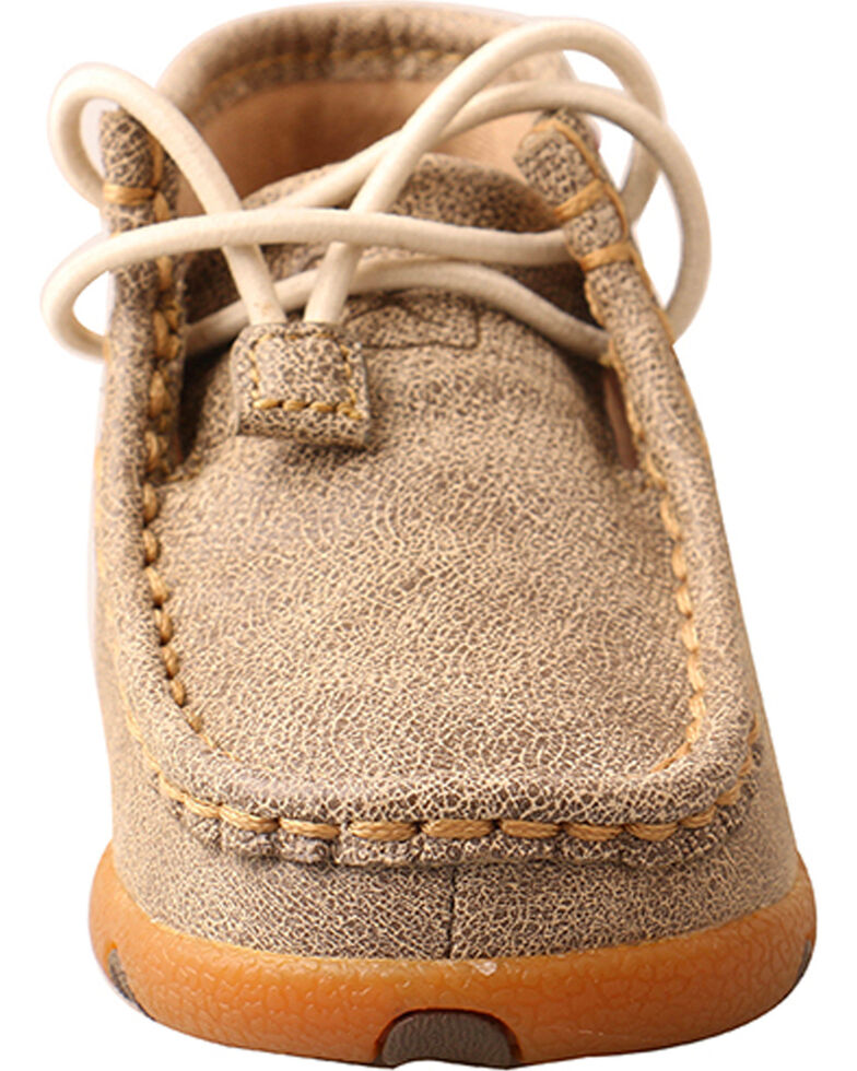 Twisted X Toddler Boys' Dusty Tan Driving Moc, Brown, hi-res