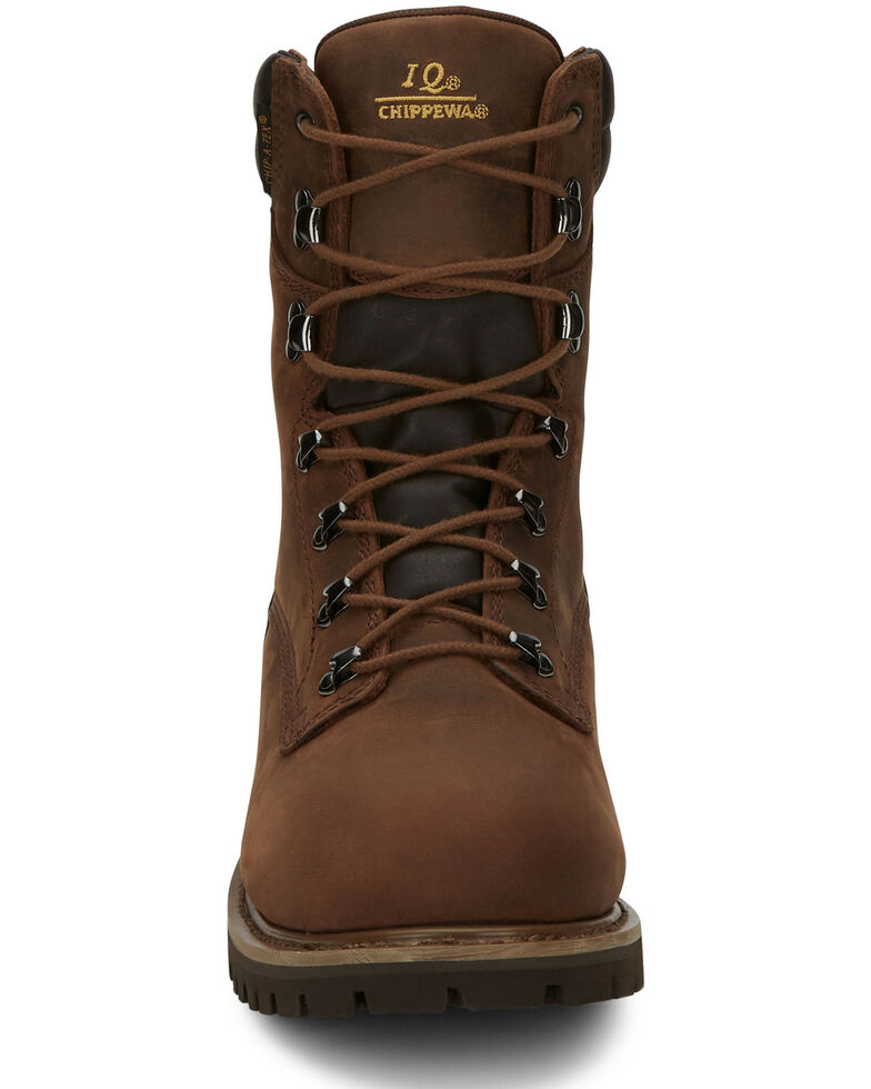 Chippewa Men's Heavy Duty Insulated Work Boots, Bark, hi-res