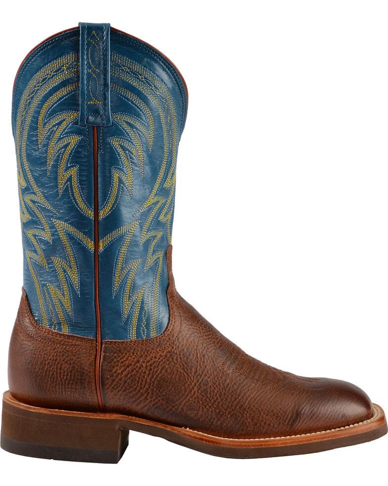 "Lucchese Men's 12"" Alan Square Toe Western Boots, Cognac, hi-res"