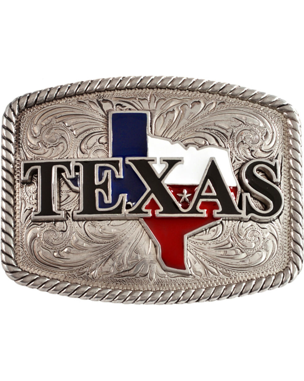 Nocona Texas Buckle, Silver, hi-res