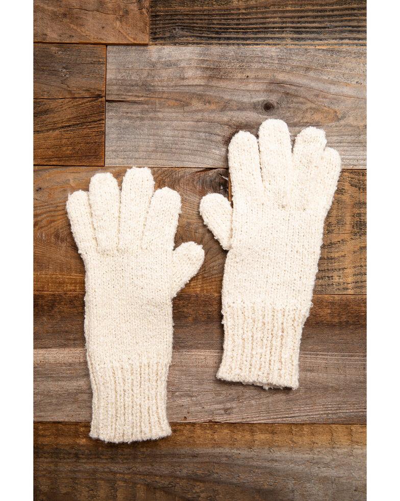 Idyllwind Women's Cozytown Cream Gloves, Cream, hi-res